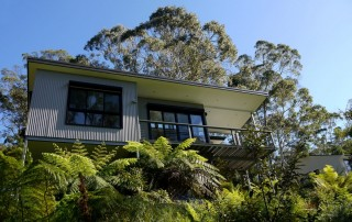 Modern House on Greenery