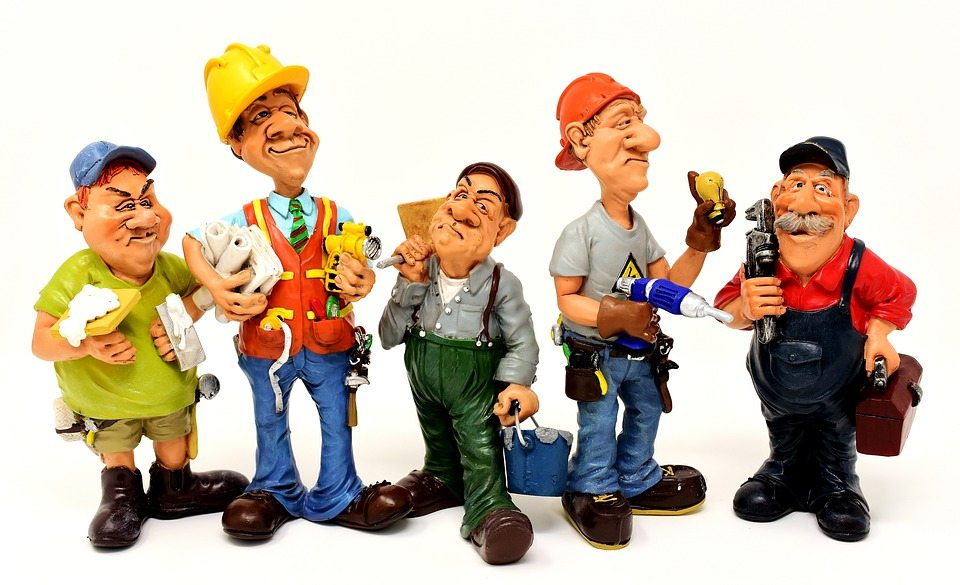construction people together